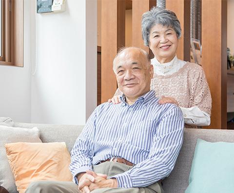 離れて暮らす高齢者の見守り