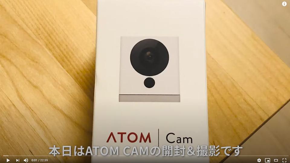 【猫動画】ATOM CAMで深夜の猫を撮影【暗視カメラテスト】